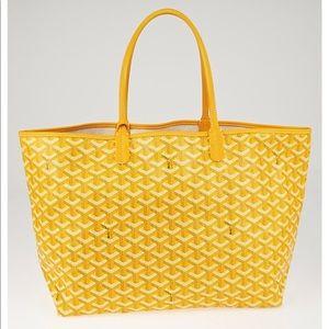 Yellow Goyard Tote 👜🌟